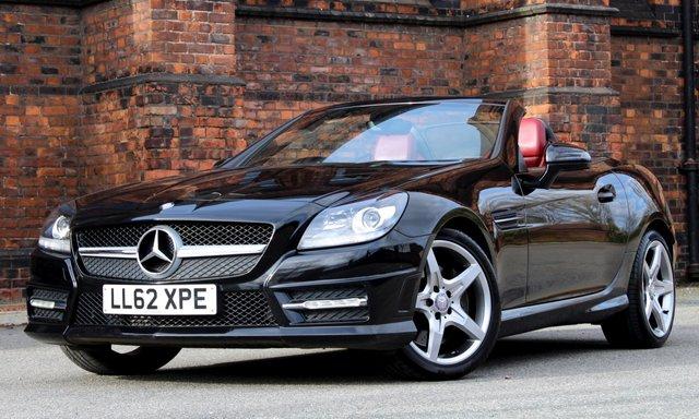 2012 62 MERCEDES-BENZ SLK 2.1 SLK250 CDI BLUEEFFICIENCY AMG SPORT 2d AUTO 204 BHP