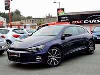 2015 VOLKSWAGEN SCIROCCO 2.0 GT TDI BLUEMOTION TECHNOLOGY 150 BHP £16500.00
