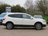 USED 2012 62 NISSAN QASHQAI+2 1.6 TEKNA IS PLUS 2 DCIS/S 5d 130 BHP PANORAMIC ROOF, SAT NAV + 360 DEGREE PARKING CAMERA