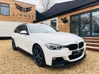 2017 BMW 3 SERIES 3.0 330D XDRIVE M SPORT TOURING 5d AUTO 255 BHP £26490.00