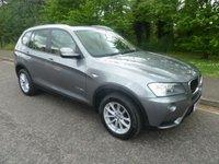 2014 BMW X3 2.0 XDRIVE20D SE 5d AUTO 181 BHP £18500.00