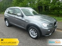 USED 2014 14 BMW X3 2.0 XDRIVE20D SE 5d AUTO 181 BHP Fantastic High Spec BMW X3 XDrive Automatic with Satellite Navigation, Glass Panoramic Sunroof, Full Leather, Climate Control, Cruise Control, Alloy Wheels and BMW Service History