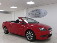 USED 2007 07 FORD FOCUS 2.0 CC2 2d 144 BHP CABRIOLET, LOW MILES, 12 MONTHS MOT, SUPERB CONDITION