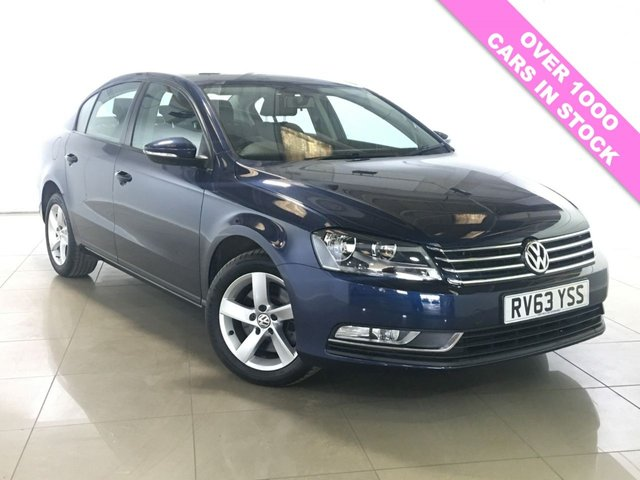 View our 2013 63 VOLKSWAGEN PASSAT 2.0 S TDI BLUEMOTION TECHNOLOGY 4d 139 BHP