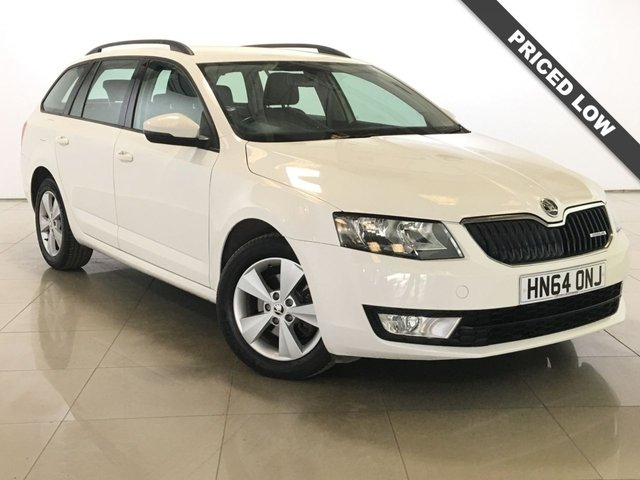 View our 2014 64 SKODA OCTAVIA 1.6 GREENLINE III TDI CR 5d 109 BHP