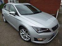 2014 SEAT LEON 2.0 TDI FR TECHNOLOGY 5d 184 BHP Extra Spec Car £10275.00