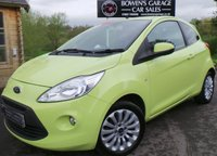 USED 2010 59 FORD KA 1.2 ZETEC 3d 69 BHP 6 Service Stamps - £30 Road Tax - Air Con - Perfect First Car!