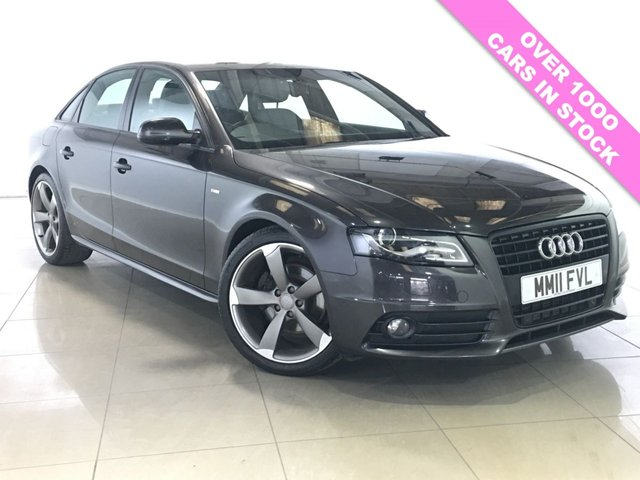 View our 2011 11 AUDI A4 2.0 TDI S LINE BLACK EDITION 4d 134 BHP