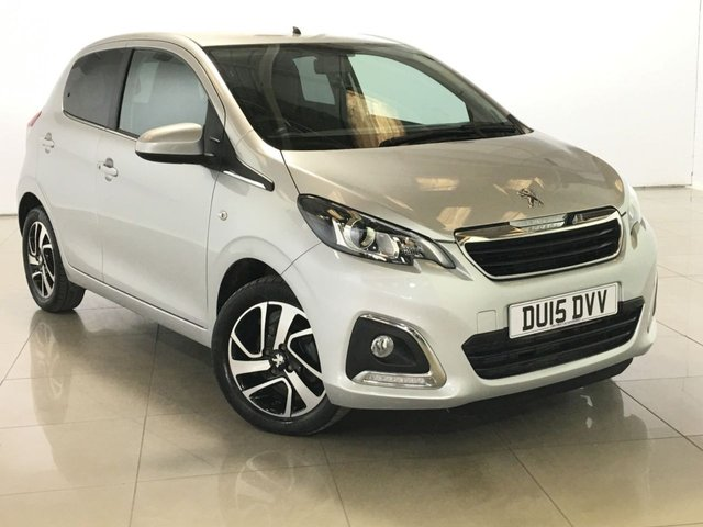 View our 2015 15 PEUGEOT 108 1.2 ALLURE 5d 82 BHP