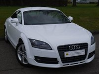 USED 2008 08 AUDI TT 2.0 TFSI 3d 200 BHP SIMPLY STUNNING COLOUR COMBINATION*** RED LEATHER