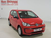 USED 2018 67 VOLKSWAGEN UP 1.0 TAKE UP 3d 60 BHP