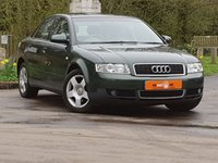 USED 2001 51 AUDI A4 1.9 TDI SE 130 4dr FSH LOW MILES LEATHER SEATS