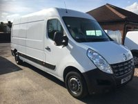 2012 RENAULT MASTER 2.3 LM35 DCI S/R 1d 125 BHP £8750.00