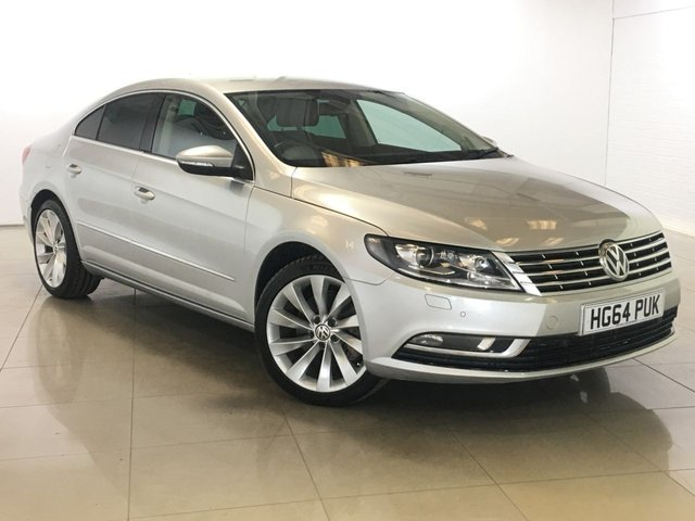 View our 2015 64 VOLKSWAGEN CC 2.0 GT TDI BLUEMOTION TECHNOLOGY 4d 138 BHP