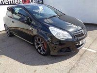2012 VAUXHALL CORSA 1.6 VXR 3d 189 BHP £7475.00