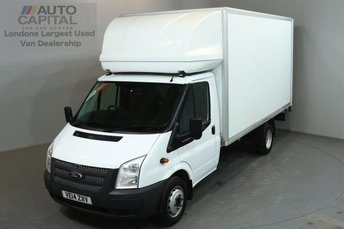 2014 FORD TRANSIT 2.2 350 DRW 124 BHP L4 EXTRA LWB REAR TAIL LIFT LUTON VAN £11490.00