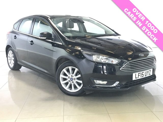 View our 2015 15 FORD FOCUS 1.5 TITANIUM TDCI NAV 5d 118 BHP