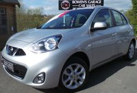 USED 2015 64 NISSAN MICRA 1.2 ACENTA 5d AUTO 79 BHP 1 Owner from New - Just 11k Miles - Sat Nav - Full Service History - Rare Automatic