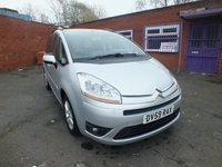USED 2009 59 CITROEN C4 GRAND PICASSO 1.6 VTR PLUS HDI EGS 5d AUTO 107 BHP