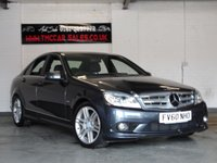 2010 MERCEDES-BENZ C CLASS 2.1 C200 CDI BLUEEFFICIENCY SPORT 4d 136 BHP £7919.00