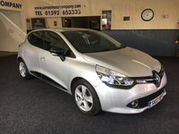 USED 2013 13 RENAULT CLIO 1.1 DYNAMIQUE MEDIANAV 5d 75 BHP High Spec Dynamique