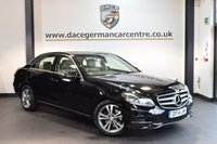 USED 2014 14 MERCEDES-BENZ E CLASS 2.1 E250 CDI SE 4DR AUTO 202 BHP + FULL CREAM LEATHER INTERIOR + FULL SERVICE HISTORY + 1 OWNER FROM NEW + BLUETOOTH + HEATED SPORT SEATS + CRUISE CONTROL + ACTIVE PARK ASSIST + 17 INCH ALLOY WHEELS +