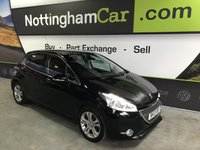 USED 2013 13 PEUGEOT 208 1.6 ALLURE E-HDI 5d 92 BHP