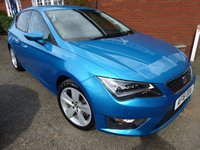 USED 2016 16 SEAT LEON 2.0 TDI FR TECHNOLOGY 5d 150 BHP Stunning Looking FR In A Fantastic Colour