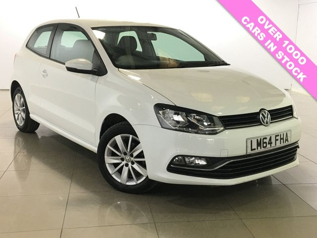 View our 2014 64 VOLKSWAGEN POLO 1.0 SE 3d 60 BHP
