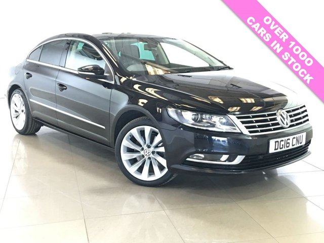 View our 2016 16 VOLKSWAGEN CC 2.0 GT TDI BLUEMOTION TECHNOLOGY DSG 4d AUTO 148 BHP