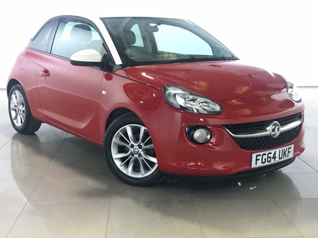 View our 2014 64 VAUXHALL ADAM 1.2 JAM S/S 3d 69 BHP
