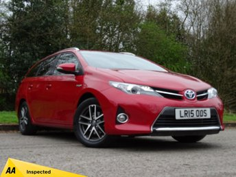 2015 TOYOTA AURIS 1.8 VVT-I ICON PLUS 5d AUTO 98 BHP £15500.00