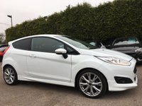 2016 FORD FIESTA 1.0 ZETEC S 3d 125BHP UPGRADED ALLOY WHEELS & PRIVACY GLASS £10250.00