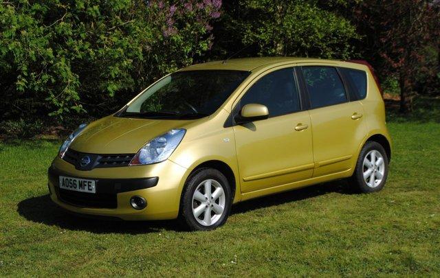 2006 56 NISSAN NOTE 1.6 SE 5d AUTO 109 BHP