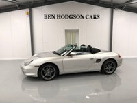 USED 2003 53 PORSCHE BOXSTER 2.7 SPYDER 2d 228 BHP BLACK LEATHER