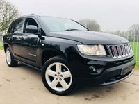 2012 JEEP COMPASS 2.4 LIMITED 5d AUTO 168 BHP