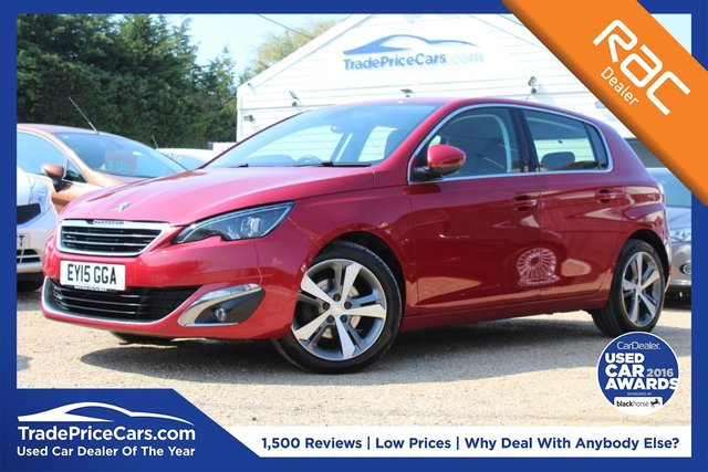 Used Peugeot 308 cars in Wickford from Trade Price Cars