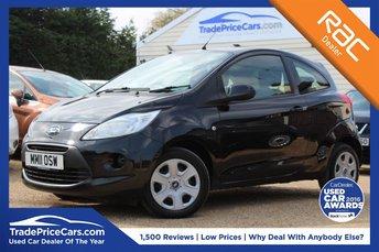 2011 FORD KA 1.2 EDGE 3d 69 BHP £4250.00