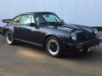 1987 PORSCHE 911 3.2 CARRERA SPORT 2d 231 BHP £54995.00