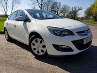 USED 2014 63 VAUXHALL ASTRA 1.2 ES CDTI 5d A/C EXCELLENT CONDITION