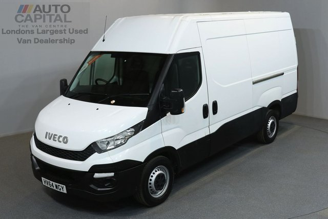 2014 64 IVECO-FORD DAILY 2.3 35S 126 BHP L2 H3 MWB HIGH ROOF ONE OWNER FROM NEW, SERVICE HISTORY