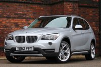 USED 2012 62 BMW X1 2.0 20d xLine xDrive 5dr PANORAMIC GLASS ROOF-LTHR 18'S