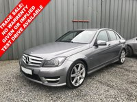 2011 MERCEDES-BENZ C CLASS 2.1 C220 CDI BLUEEFFICIENCY SPORT ED125 4d 170 BHP £6750.00