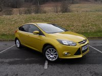 USED 2011 61 FORD FOCUS 1.6 TITANIUM 5d 124 BHP FULL FORD SERVICE HISTORY