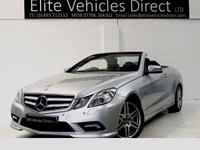 2011 MERCEDES-BENZ E CLASS 3.0 E350 CDI BLUEEFFICIENCY SPORT ED125 (SPECIAL EDITION) £13991.00