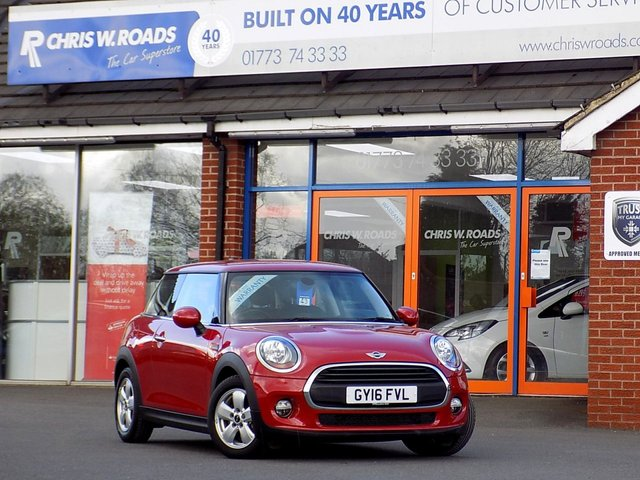 USED 2016 16 MINI HATCH ONE 1.2 ONE 3dr  ** Pepper Pack **