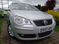 USED 2007 57 VOLKSWAGEN POLO 1.2 S 5d 59 BHP **1 Owner FSH 9 Stamps 12 Months Mot**