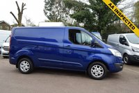 USED 2015 15 FORD TRANSIT CUSTOM 2.2 290 LIMITED LR P/V 1d 124 BHP with an AA inspection A top spec 2015 Ford Transit custom 290 2.2tdci 125 LIMITED in blue metallic with service history and 2 keys.