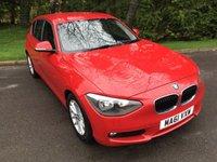 2011 BMW 1 SERIES 2.0 116D SE 5d 114 BHP £7995.00