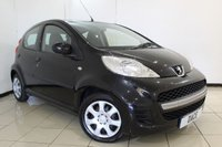 USED 2011 11 PEUGEOT 107 1.0 URBAN 5DR 68 BHP SERVICE HISTORY + AIR CONDITIONING + RADIO/CD + AUXILIARY PORT + ELECTRIC WINDOWS